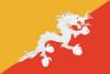 Flagge Bhutan