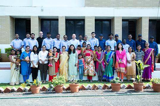 Daetwyler SwissTec India 10 Jahre Feier