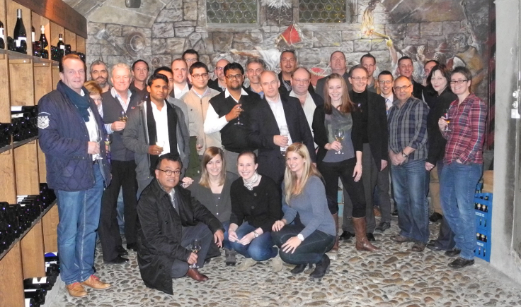 Daetwyler SwissTec Gruppenbild Salesmeeting 2014