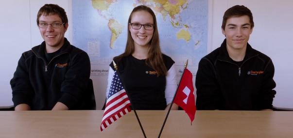 Daetwyler SwissTec Lernende im Austauschjahr bei Daetwyler USA