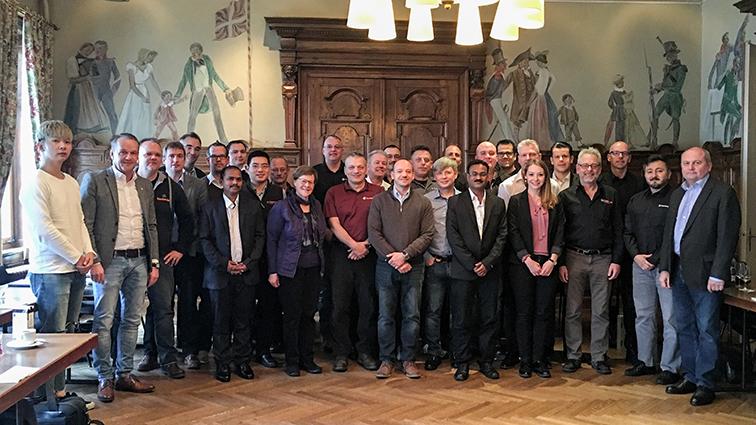 Daetwyler SwissTec Gruppenbild Salesmeeting