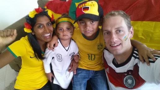 Daetwyler SwissTec Familienbild von Manager von MDC Brasilien